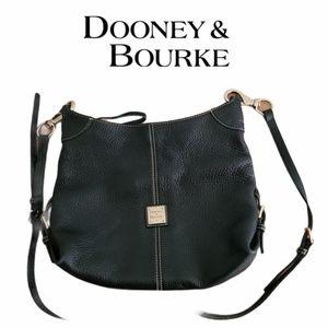 Dooney & Bourke Saddle Frederica Pebbled Leather S